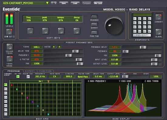H3000 Band Delays550