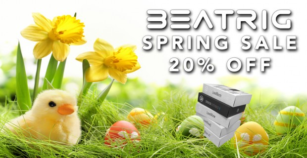 BeatRig Spring Sale 20 Precent Off