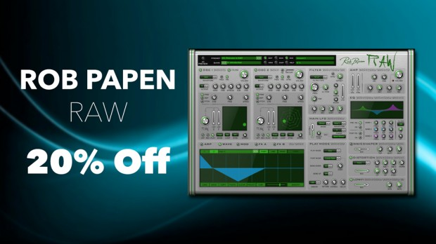 Rob Papen RAW - March Promo