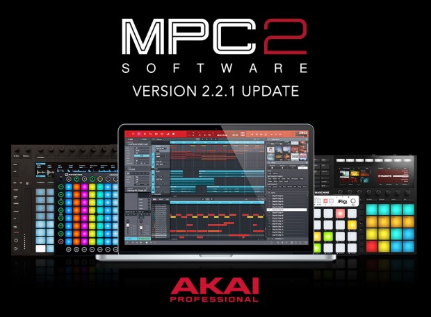 AKAI MPC 2.2.1 Update