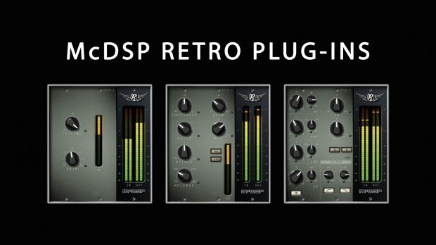 McDSP Retro Plugins April 2018 Promo