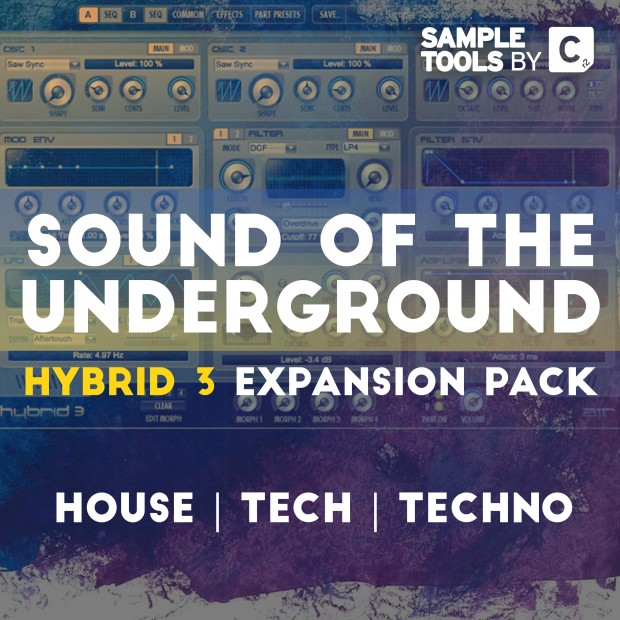 Sound Of The Underground for AIR Music's Hybrid 3