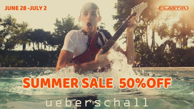 ueberschall summer sale