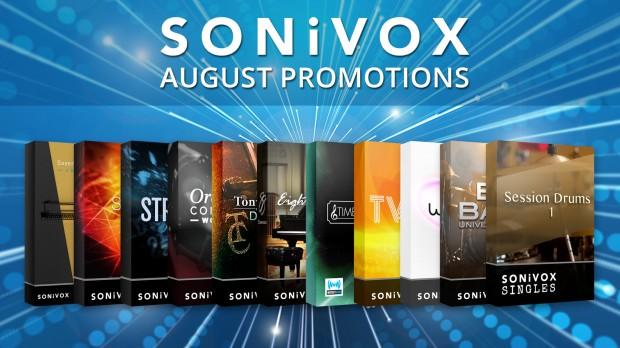 Sonivox August 2018 Promo