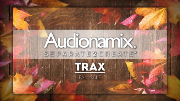 Audionamix Trax Fall Sale