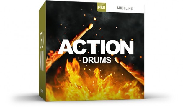 Toontrack Action Drums MIDI