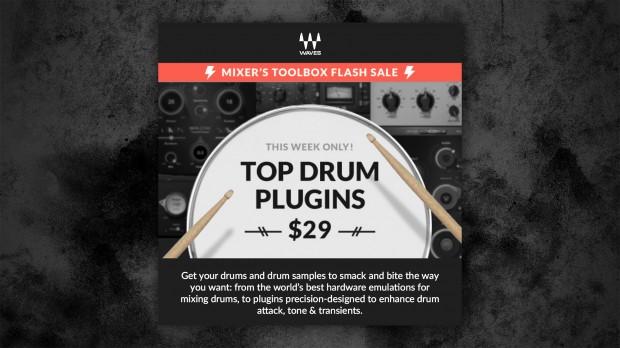 Waves Top Drum Plugins Sale