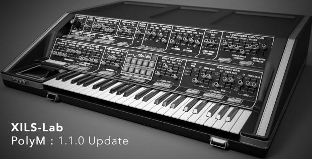 XILS-lab PolyM 1.1.0 Update