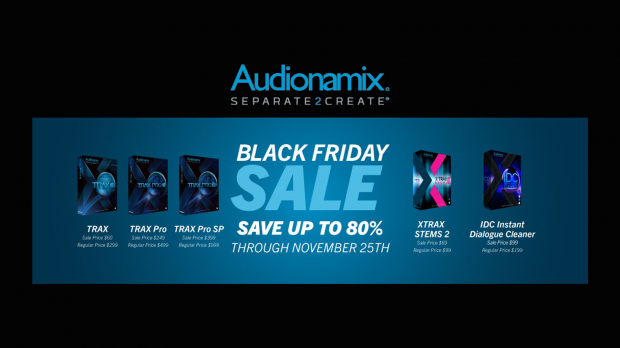 Audionamix-Black-Friday-2018-Promo