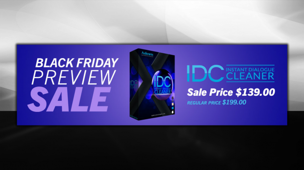 Audionamix Black Friday IDC Preveiw Sale 2018