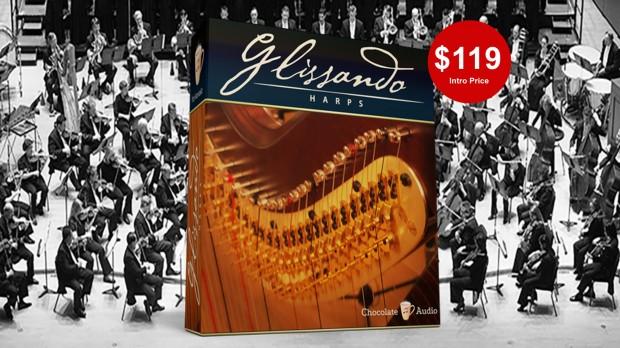 Glissando Concert Harps For Kontakt