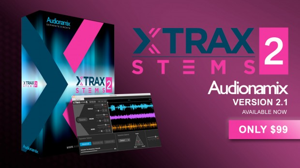 Audionamix Xtrax Stems 2.1