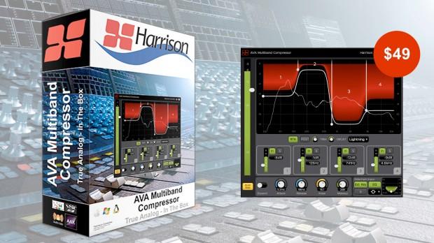 Harrison Consoles - AVA Multiband Compressor