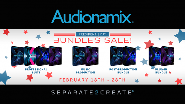 Audionamix Presidents Day Sales 2019