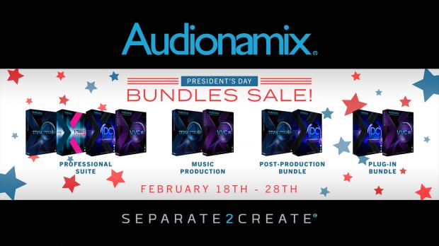 Audionamix Presidents Day Sales 2019