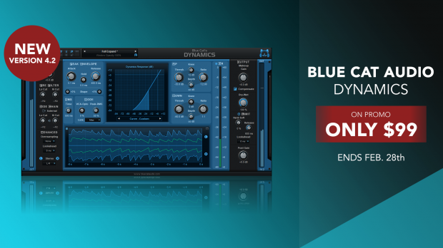 Blue Cat Audio Dynamics 4.2 Feb 2019 Promo