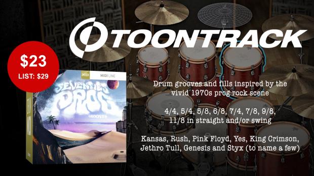Toontrack Seventies Prog Grooves