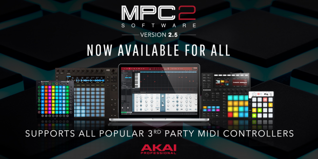 AKAI Professional MPC 2.5 Software