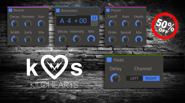 Kilohearts Promo April 2019
