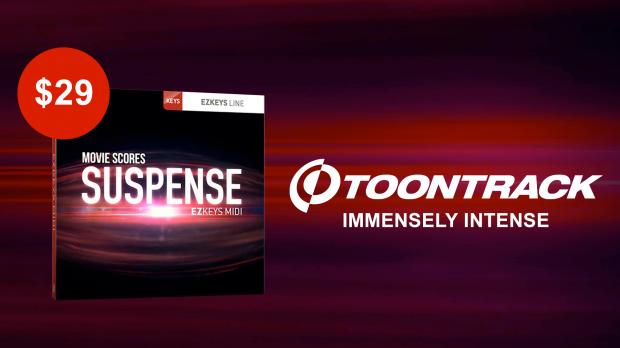 Toontrack Movie Scores Suspense EZkeys MIDI