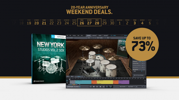 Toontrack New York Studios Vol2 Weekend Sale