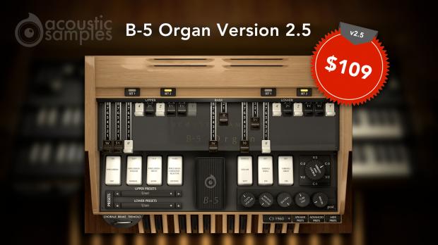 Acousticsamples B-5 Organ 2.5
