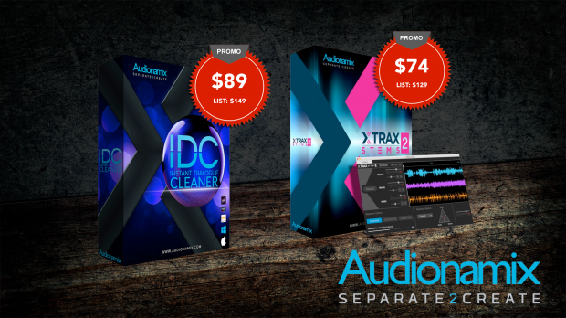 Audionamix June 2019 Promos