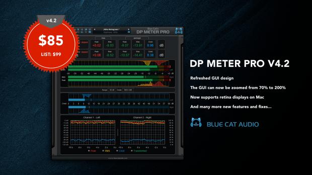 Blue Cat Audio DP Meter 4.2