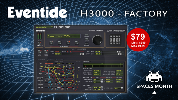 Eventide H3000 Spaces Month