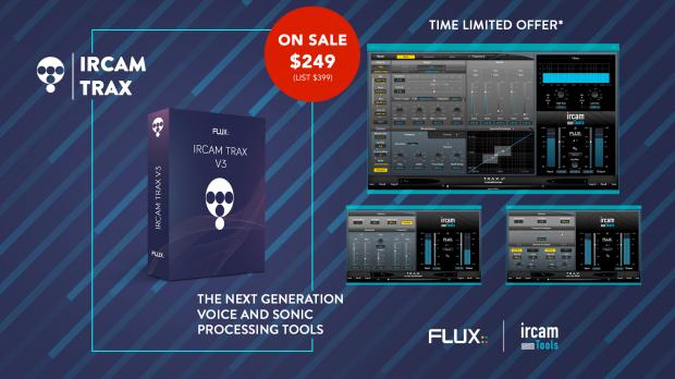 Flux Ircam Trax v3 May 2019 Promo