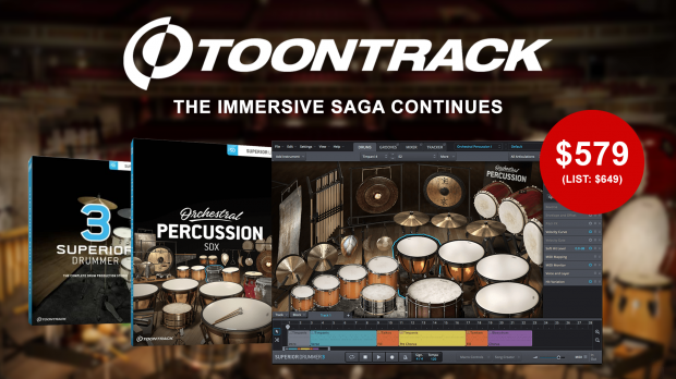 Toontrack Superior Drummer Orchestral Edition