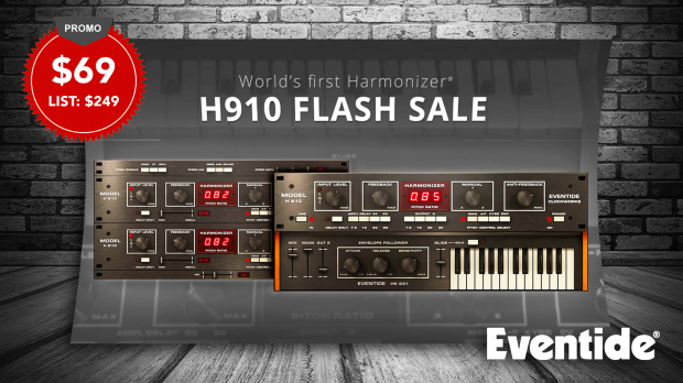 Eventide-H910-Harmonizer-Flash-Sale-June-2019