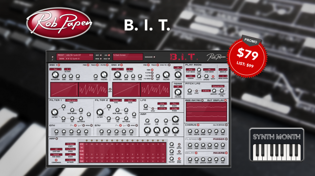 Rob Papen BIT Synth Month Launch Promo - June 2019