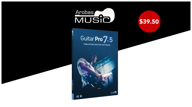 Arobas Music - Guitar Pro 7.5 July 2019 Promo