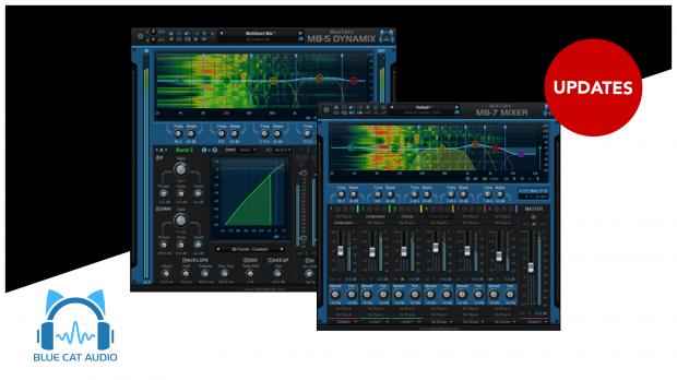 Blue Cat Audio MB-5 & MB-7 Updates 07-2019