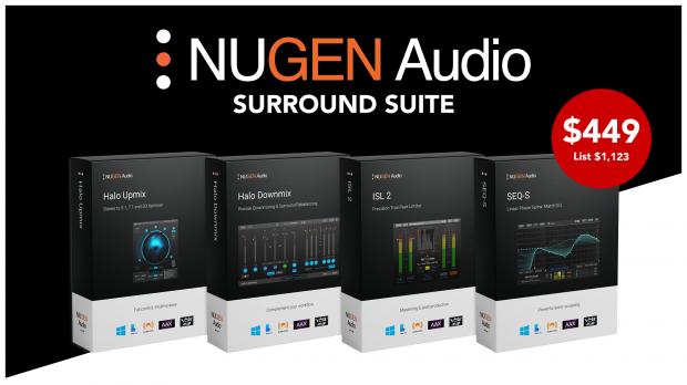 Nugen Surround Suite Promo Oct 2019