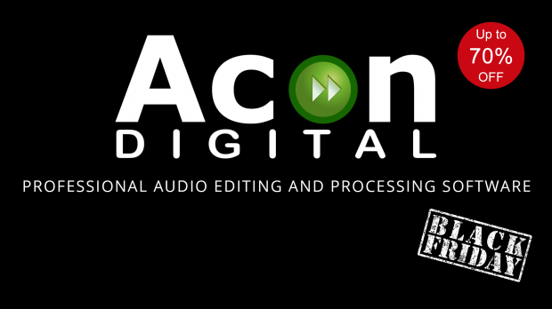 Acon Digital Black Friday 2019