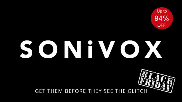 SONIVOX Black Friday 2019