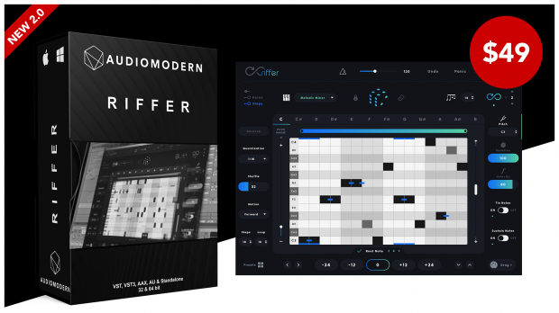 Audiomodern Riffer 2.0 Launch