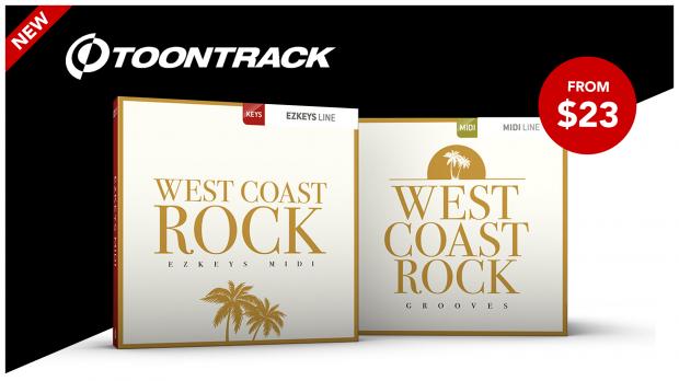Toontrack-West-Coast-Rock-EZkeys-MIDI