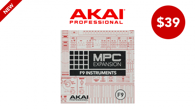 AKAI MPC-F9 Instruments Collection-March-2020