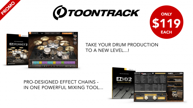 Toontrack-April-2020-EZmix-and-EZDrummer-Promo