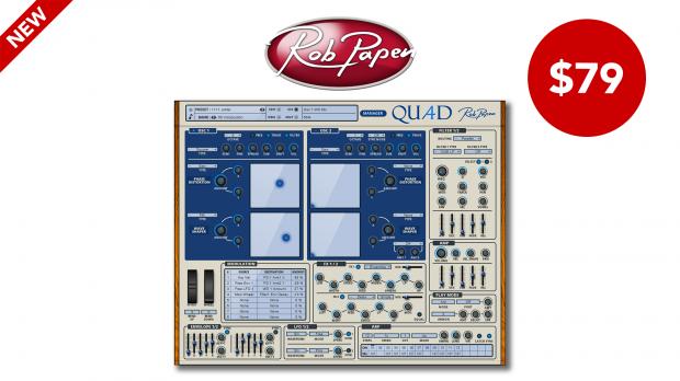 Rob Papen Quad - Launch Promo April 2020