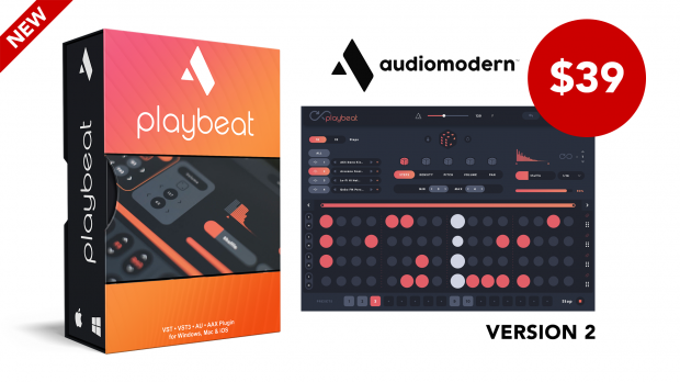 Audiomodern-Playbeat-v2-Launch-May-2020