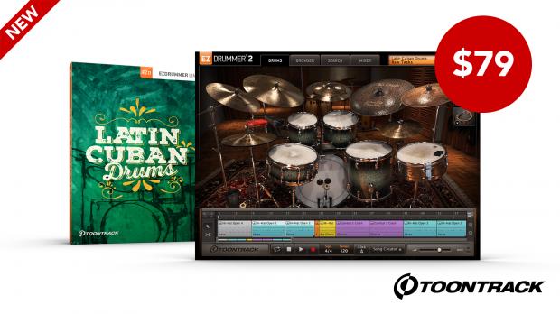 Toontrack-Latin-Cuban-Drums-EZX-Launch-June-2020