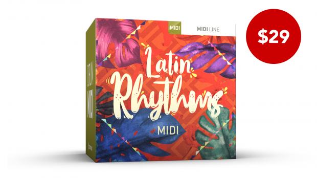 Toontrack Latin Rhythms MIDI June 2020