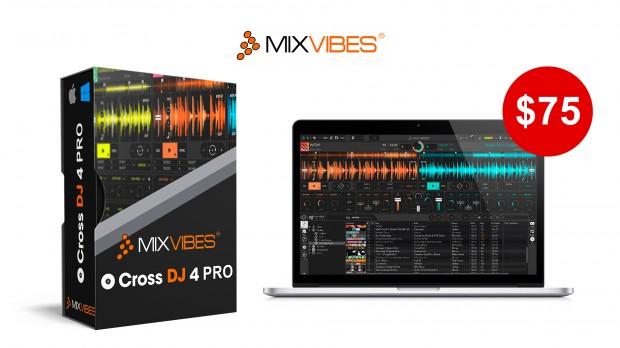 Mixvibes CROSS DJ 4 Pro Banner