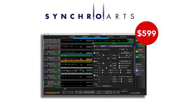 Synchro Arts Revoice Pro 4 Oct 2020