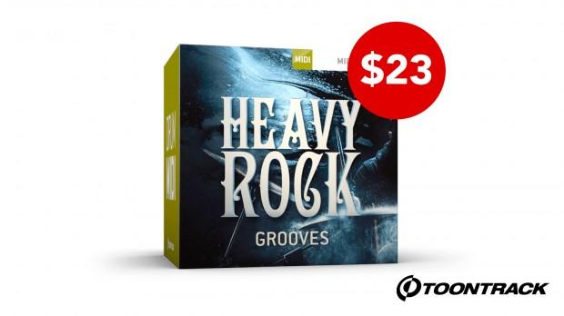 Toontrack Heavy Rock Grooves Launch OCt 2020