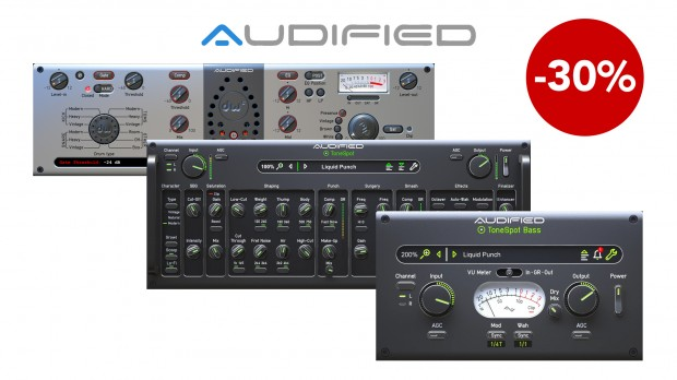Audified Drum Bass effects promo JAN 2021